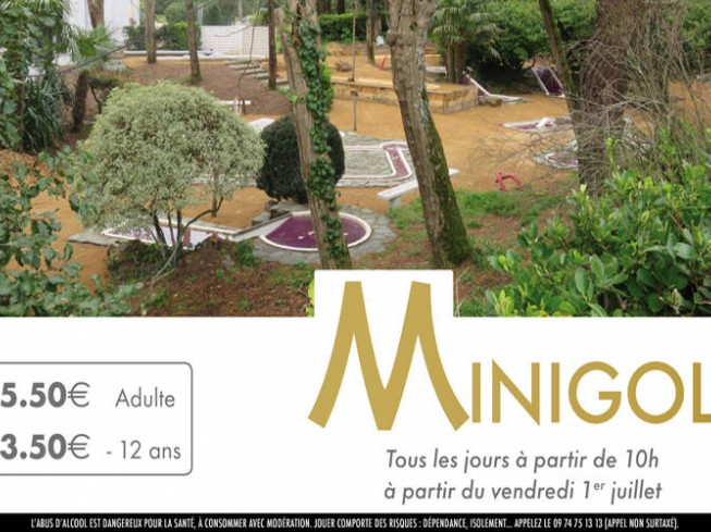 MINI GOLF DU CASINO DES PINS