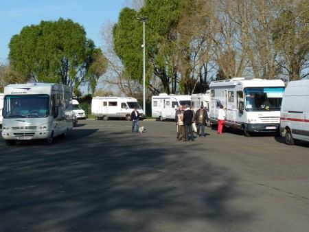 AIRE D'ACCUEIL CAMPING-CAR D'ANGERS