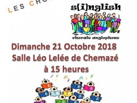 CONCERT : LES CHORALINES & S[I]NGLISH