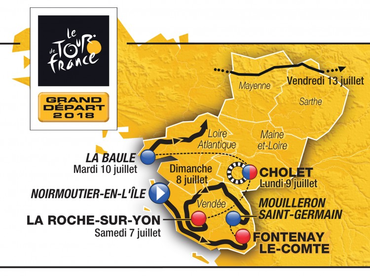 Le Grand Départ du Tour de France