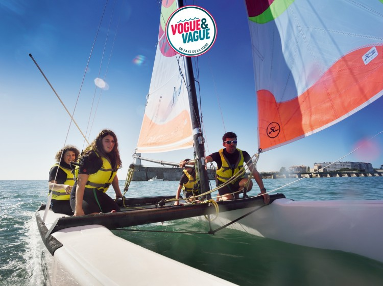 Initiation au catamaran - Institut Sport Océan - Les Sables-d'Olonne
